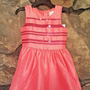 Gymboree Girls Special Occasion Prty Dress Sequins